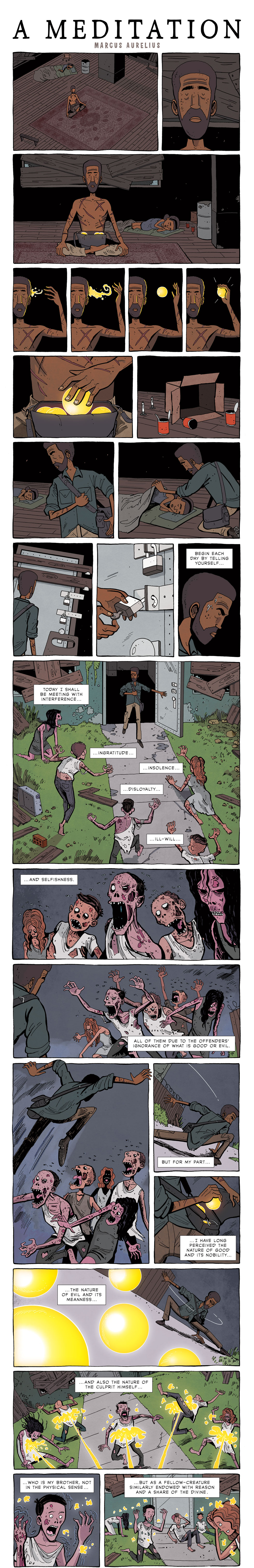 Rudyard Kipling if zen pencils